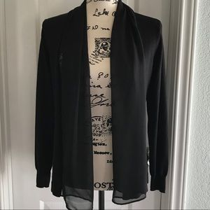H&M Black Sheer Cardigan